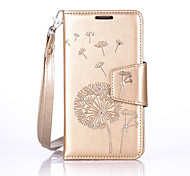 Dandelion Lanyard Embossed Diamond Phone Holster Phone Shell for Lenovo A2010/A2020