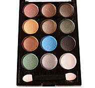 12 sombras de ojos colores colores al azar desnuda comestic de larga duración de maquillaje de belleza