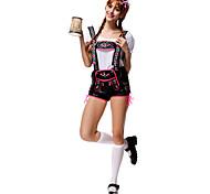 Косплэй Kостюмы Костюм для вечеринки Октоберфест Официант Карьера костюмы Фестиваль / праздник Костюмы на Хэллоуин Пэчворк