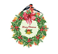 Wall Stickers Wall Decals Style Christmas Garland PVC Wall Stickers