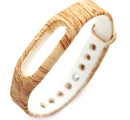 Wristband Bracelet Strap Replacement Parts For Mi band(Wood)