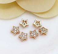поделки ювелирные изделия золота 24k мини-звезда