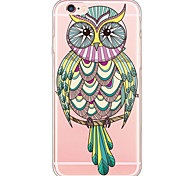 Ultra-thin Owl TPU Soft UltraTranslucent -thin Back Cover Case Cover For Apple iPhone 6 Plus / iPhone 6s/6 / iPhone 5s/5