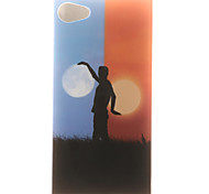 de volta IMD Other TPU Macio Case Capa Para Sony Sony Xperia XP / Other