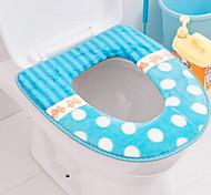 Housse de coussin de siège pâte épaisse toilettes f23-3-01 siège de toilette universel en peluche couverture toilette pad pot
