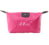 Lovely Dumpling Type Cosmetic Bag Candy Color Cosmetic Bag-Random delivery