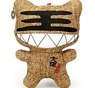 wu3 canción docena de tigre muñeca de dibujos animados de coches colgar decoraciones