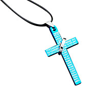 Short Necklace Bible Cross Necklace