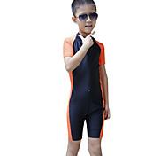 SBART Kid's Diving Suits Diving Suit Compression Wetsuits 1.5 to 1.9 mm Pink / Blue / Orange S / M / L / XL Diving