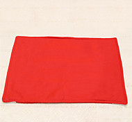 1pc Red Christmas Placemat Silverware Tableware Table Decoration Cup Mat Holiday Gift