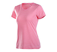 Running T-shirt Women's Quick Dry / Sweat-wicking Running Sports Sports Wear Green / Pink / Blue / Cyan