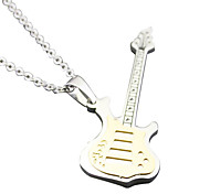 Guitar lovers Necklace - gold color small section