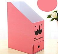 Creative Paper Drawer Double Beard DIY Debris Box Office Desktop File Storage Box