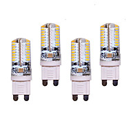 7W G9 Luces LED de Doble Pin T 64 SMD 3014 550 lm Blanco Cálido / Blanco Fresco Decorativa AC 100-240 V 4 piezas