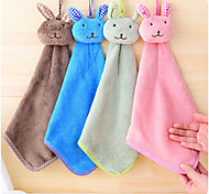 Micro Fiber Cartoon Soft Hooded Towel Quick-drying