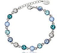 Good Quality Crystal Chain Bracelet