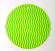 Wavy silicone mat slip mat silicone insulation pad A-10 5Pcs