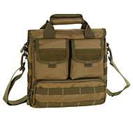 10 L Sling & Messenger Bag Camping & Hiking Outdoor Waterproof Gray / Black / Brown / Army Green / Camouflage Nylon