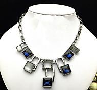 Women Alloy 50cm Black Chain Necklaces