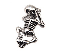 316L Stainless Steel Pendant Skeleton
