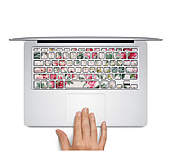 "Floral Keyboard sticker Laptop Decal for MacBook Air 13"" MacBook Pro Retina 13'/15"" MacBook Pro15"" MacBook Pro 17"
