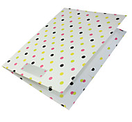 A4 Booklet Polka Dots Cute Decoration Gift Lovely School Business Multifunction Art Supplies Painting Folders&Covers