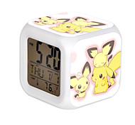 Relógio Inspirado por Pocket Little Monster Fantasias Anime Acessórios de Cosplay Relógio Amarelo Resina Masculino Feminino