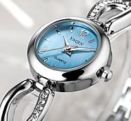 Women's Dress Watch Bracelet Watch Quartz Casual Watch Stainless Steel Band Elegant Silver Brand