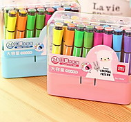 18 Colora Washable Bon-toxic Watercolor Pen for Children (Random Color)