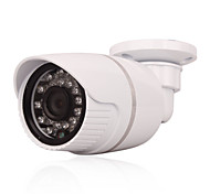 Cctv 24pcs Leds Ir-cut Indoor Outdoor Bullet POE Ip Security Camera 1.0mp 720p P2p Network Security Ip Camera