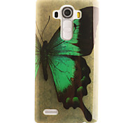 Butterfly Painting Pattern TPU Soft Case for LG G4/G4Mini/G4C/G3Mini/G3