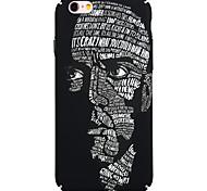 Back Dustproof / Punk Graffiti BSYK12 PC Case Cover For Apple iPhone 6s Plus/6 Plus / iPhone 6s/6 / iPhone SE/5s/5