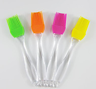 Large Crystal Handle Silicone Brush Silicone Brush Grill 5Pcs