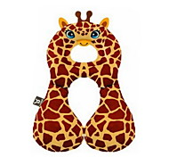 1-3 Years Old Safety Seat Headrest T Baby Neck Protection Pillow Type U Infant Car Travel Pillow(giraffe)