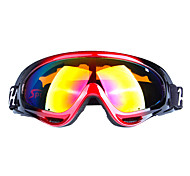 Male And Female Professional Single Layer Anti Fog Lens Ski Glasses