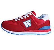 Leatherette Rubber Korean Running Woman Casual Shoes