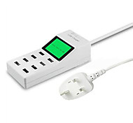 8 USB Ports Multi Ports Home Charger with Cable For iPad / For Cellphone / For iPhone / For Other Pad