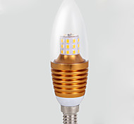 1pcs Home Lighting High Power E14 Led 220v 7w  Energy Saving Lamp Light E14 Led Candle 7w Velas 2835 Led Bulb Aluminum