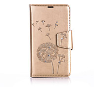 For  One Plus 3 Luxury Fashion Dandelion Flowers Case  Flip Wallet Cases Quality Phone Cover
