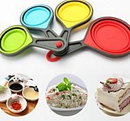 Creative Kitchen Gadget / Melhor qualidade / Alta qualidadeCups Silicone Bakeware Creative Kitchen Supplies A Family Of Four Random