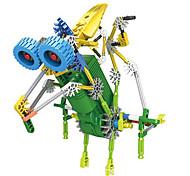 li chi loz3018 acumulando máquina de la serie de ciencia ojos de animales pequeños de plástico eléctrico de juguete bloques de