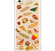 For iPhone 5 Case Shockproof / Pattern Case Back Cover Case Tile Soft TPU for iPhone SE/5s/5