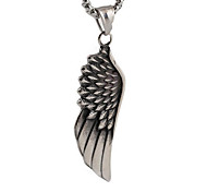Retro Fashion Personality Angel Wings Feather Pendant