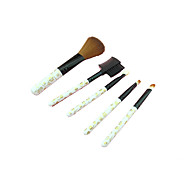 5 Pack Portable Makeup Brush Makeup Brush Set