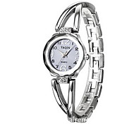 Women's Bracelet Watch Quartz Japanese Quartz Casual Watch Alloy Band Silver Gold Brand