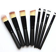8pcs Nice Pro Soft Cosmetic Beauty Makeup Brush Set Kit with Pouch Bag Case Pincel Maquiagem Brochas Maquillaje Kabuki