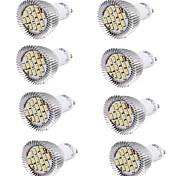 7W GU10 Точечное LED освещение MR16 15 SMD 5630 700 lm Тёплый белый / Холодный белый Декоративная AC 85-265 / AC 220-240 / AC 100-240 V8