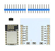 Landa Tianrui TM-ESP-12 ESP8266 Serial WiFi Wireless Module w/ PCB Antenna + Adapter Board for Arduino / Raspberry Pi