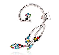 Alloy Fashion Jewelry Peacock Silver Jewelry Daily Casual 1pc