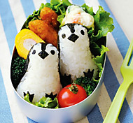Penguin Shape DIY Kids Bento Rice Mold Suit